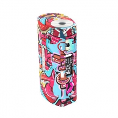 Pre-Sale Authentic S-Body Sbody Orca Mini 100W 2x18650/26650 TC VW Variable Wattage Box Mod - Doodles