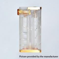 SOB Emperor Style 24mm Mechanical Box Mod - Tranparent