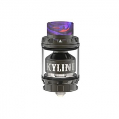 Pre-Sale Authentic Vandy Vape Kylin V2 24mm RTA Rebuildable Tank Atomizer 3/5ml - Gun Metal