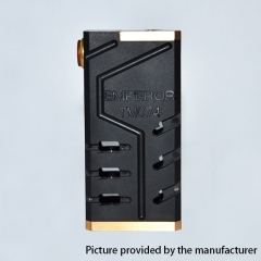 SOB Emperor Style 24mm Mechanical Box Mod - Black