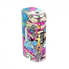 Authentic S-Body Sbody Orca Mini 100W 1x18650/26650 TC VW Variable Wattage Box Mod - Laputa