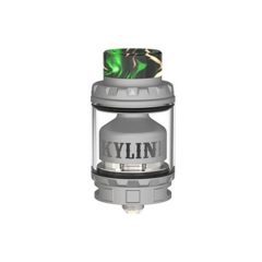 Authentic Vandy Vape Kylin V2 24mm RTA Rebuildable Tank Atomizer 3/5ml - Frosted Gray