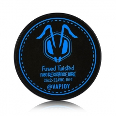 Authentic VAPJOY CSJ011 Fused Clapton Twisted NI80 Heating Resistance Wire 26*2+32AWG - 15 Feet