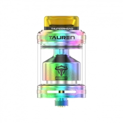 Authentic Thunder Head Creations THC TAUREN 24mm RTA Rebuildable Tank Atomizer - Rainbow