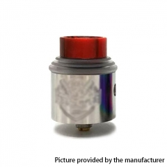 Apocalypse Gen 4 Style 24mm RDA Rebuildable Dripping Atomizer w/BF Pin - Silver