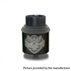 Apocalypse Gen 4 Style 24mm RDA Rebuildable Dripping Atomizer w/BF Pin - Black