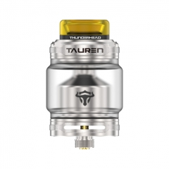 Authentic Thunder Head Creations THC TAUREN 24mm RTA Rebuildable Tank Atomizer - Silver