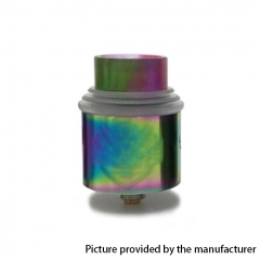 Apocalypse Gen 4 Style 24mm RDA Rebuildable Dripping Atomizer w/BF Pin - Rainbow