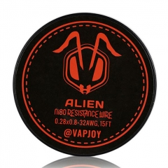 Authentic VAPJOY CSJ010 Flat Alien NI80 Heating Resistance Wire 0.28*0.8+32AWG - 15 Feet