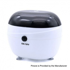 Authentic Vivismoke Ultrasonic Cleaner for RDA / RTA / Sub Ohm Tank Atomizer 150ml - White + Black