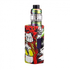 Authentic YOSTA Livepor 200W TC VW APV Box Mod + IGVI M2 Tank 6ml/0.15ohm Kit - Flames