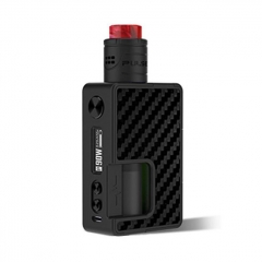 Authentic Vandy Vape Pulse X 90W 18650/20700/21700 Squonk Kit - Carbon Fiber Full Black