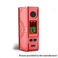 Authentic Laisimo Defender 200W TC VW Variable Wattage Box Mod - Red