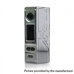 Authentic Laisimo Defender 200W TC VW Variable Wattage Box Mod - Silver