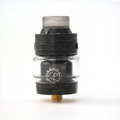 Authentic ADVKEN CP TF 25mm RTA Rebuildable Tank Atomizer 3/4ml - Black