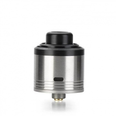 Pre-Sale Authentic Gas Mods G.R.1 GR1 Pro 24mm RDA Rebuildable Dripping Atomizer w/ BF Pin - Silver