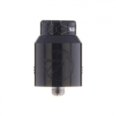 Authentic Hellvape Rebirth 24mm RDA Rebuildable Dripping Atomizer w/ BF Pin - Piano Full Black