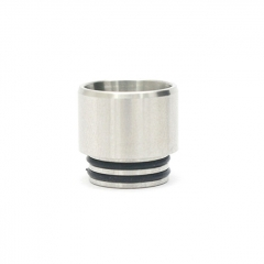 Iwodevape 810 Stainless Anti-Spit Drip Tip 1pc - Silver