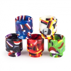 810 Replacement TFV8 Flag Resin Drip Tip for Atomizers 1pc (Long) - Random Color
