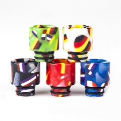 510 Flag Replacement Resin Drip Tip for Atomizers 1pc - Random Color