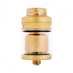 Authentic Wotofo Serpent Elevate 24mm RTA Rebuildable Tank Atomizer 3.5ml - Gold