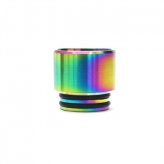 Iwodevape 810 Stainless Anti-Spit Drip Tip 1pc - Rainbow