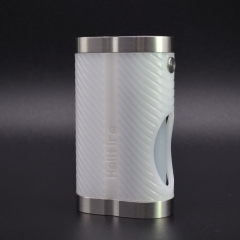 ULTON Hellfire Cobra Style 18650 Squonk Mod w/7ml Bottle - White