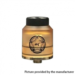 Do It Style 24mm RDA Rebuildable Dripping Atomizer w/ BF Pin - Yellow