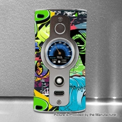 Authentic VSTICKING VK530 200W YIHI SX530 Chip TC Temperature Control Box Mod - Skull Silver