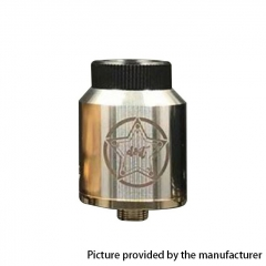 Do It Style 24mm RDA Rebuildable Dripping Atomizer w/ BF Pin - Silver