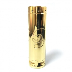 Lysen CompLy Skull HK Style 18650/20700/21700 Hybrid Mechanical Tube Mod - Brass