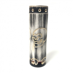 Lysen CompLy Skull HK Style 18650/20700/21700 Hybrid Mechanical Tube Mod - Gray