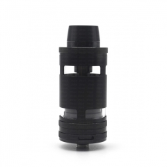 (Ships from Germany)ULTON Typhoon GT4 Style 316SS RTA Rebuildable Tank Atomizer 5ml (No Logo) - Black