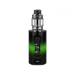 Authentic Rincoe Manto S Mesh 228W TC VW APV Box Mod w/Metis Mix Tank 6ml Kit - Green