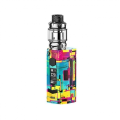 Authentic Rincoe Manto S Mesh 228W TC VW APV Box Mod w/Metis Mix Tank 6ml Kit - Graffiti B