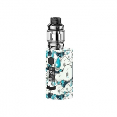 Authentic Rincoe Manto S Mesh 228W TC VW APV Box Mod w/Metis Mix Tank 6ml Kit - Acid Rain
