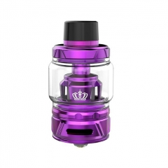 Authentic Uwell Crown 4 IV 28mm Sub Ohm Tank Clearomizer 6ml/0.4ohm - Purple