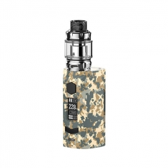 Authentic Rincoe Manto S Mesh 228W TC VW APV Box Mod w/Metis Mix Tank 6ml Kit - Camo