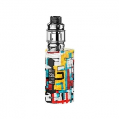 Authentic Rincoe Manto S Mesh 228W TC VW APV Box Mod w/Metis Mix Tank 6ml Kit - Graffiti A