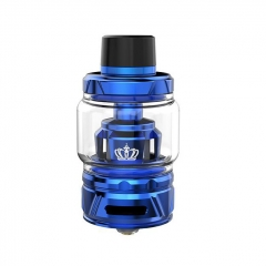 Authentic Uwell Crown 4 IV 28mm Sub Ohm Tank Clearomizer 6ml/0.4ohm - Blue