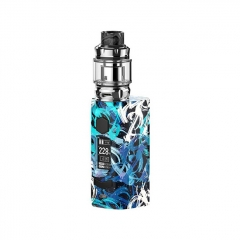 Authentic Rincoe Manto S Mesh 228W TC VW APV Box Mod w/Metis Mix Tank 6ml Kit - Graffiti