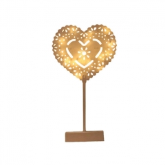 Heart Styled Mini LED Night Light Wedding Christmas Decor