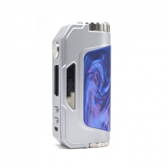 Authentic Talent Vape 1007 IOO7 117W 18650/20700/21700 VV/VW TC Temperature Control APV Box Mod - Silver