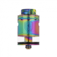 Faris Style 24mm RDTA Rebuildable Dripping Tank Atomizer 3ml - Rainbow