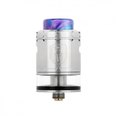 Faris Style 24mm RDTA Rebuildable Dripping Tank Atomizer 3ml - Silver