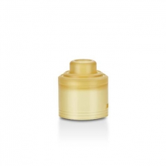Authentic GAS Mods PEI Replacement Top Cap for G.R.1 GR1 Pro RDA - Yellow