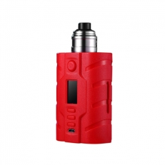 Authentic VapeCige VTX200 DNA250C 200W TC VW Squonk Box Mod + RDA Kit - Red