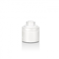 Authentic GAS Mods PC Replacement Top Cap for G.R.1 GR1 Pro RDA - White