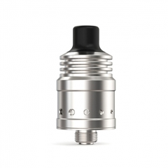 Ambition Mods Spiral MTL 18mm 316SS RDA Rebuildable Dripping Atomizer - Silver