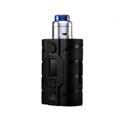 Authentic VapeCige VTX200 DNA250C 200W TC VW Squonk Box Mod + RDA Kit - Black